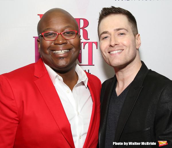 Titus Burgess and Randy Rainbow  Photo