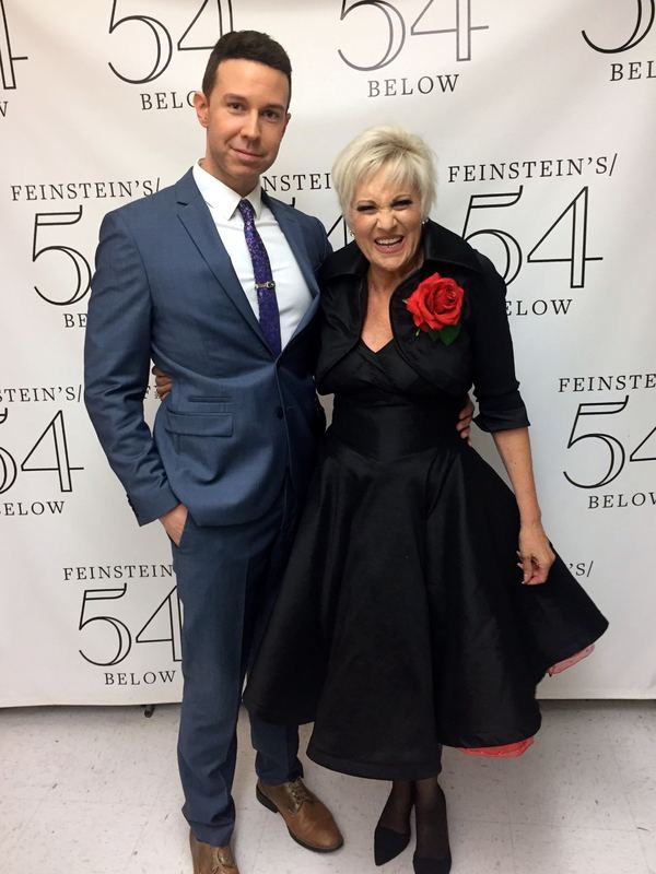 Jeremy Benton and Lorna Luft