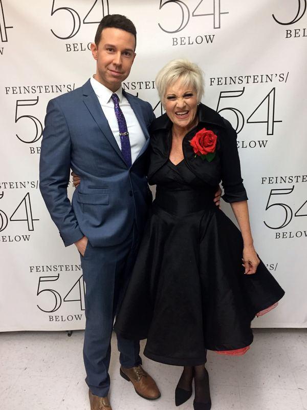 Jeremy Benton and Lorna Luft
