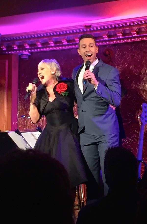 Lorna Luft and Jeremy Benton