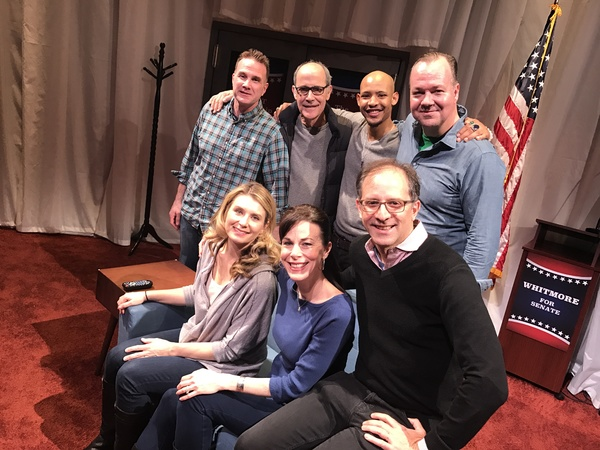 Ted Koch, Robert Emmet Lunney, Jonathan Louis Dent, Rob Nagle; Nadia Bowers, Christa  Photo