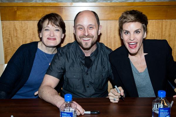 Petrina Bromley, Geno Carr, Jenn Colella Photo