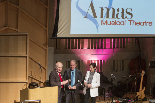 Photo Flash: Amas Musical Theatre Celebrates Aherns and Flaherty at 2017 Gala
