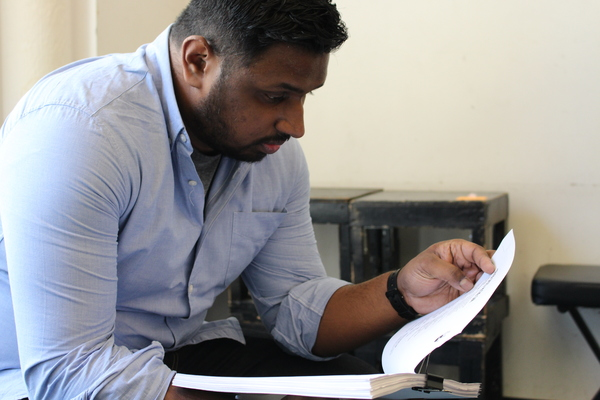 Photo Flash: Tale of Miracles SEVEN SPOTS IN THE SUN Hits the Rehearsal Room