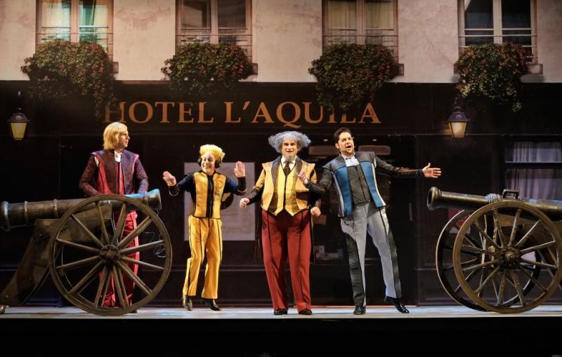BWW Review: LA GAZZETTA at The Israeli Opera