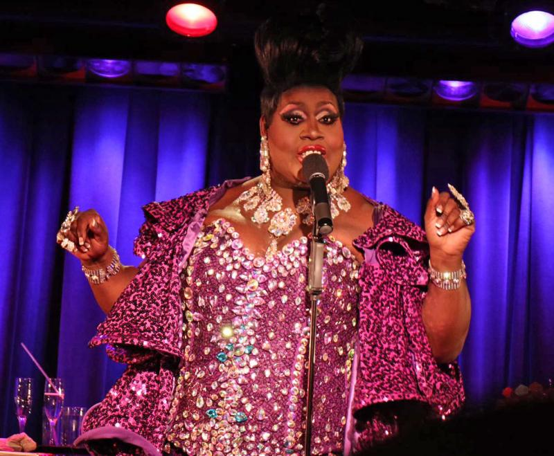 BWW Review: Latrice Royale Serves Redemption Realness in LIFE GOES ON at the Laurie Beechman