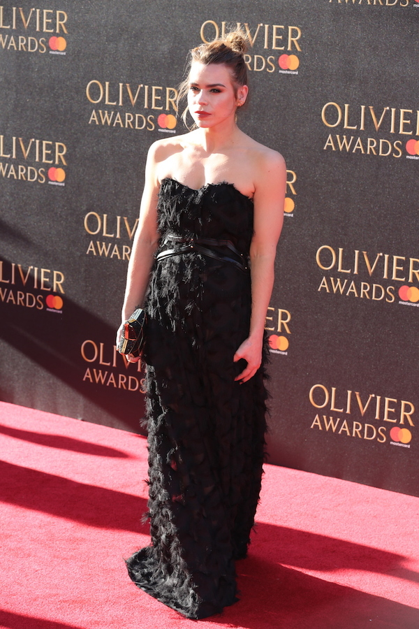 Photo Flash: Amber Riley, Billie Piper & More On 2017 Olivier Awards Red Carpet