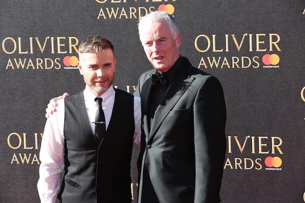 Gary Barlow and Tim Firth