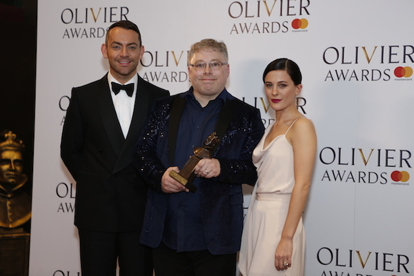 Ben Forster, Gareth Fry and Phoebe Fox Photo