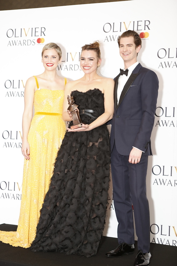Denise Gough, Billie Piper and Andrew Garfield Photo