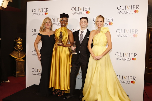 Tracy-Ann Oberman, Noma Dumezweni, Anthony Boyle and Amanda Holden