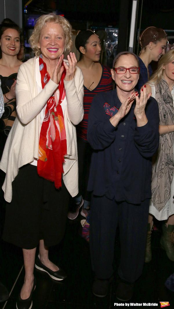 Christine Edbersole and Patti Lupone