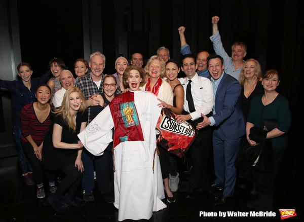 Joanna Glushak  with Patti Lupone, Christine Ebersole, Douglas Sills, John Dossett and the cast