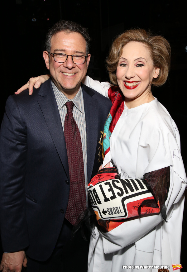 Michael Greif and Joanna Glushak