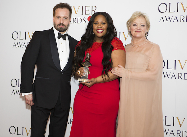 Alfie Boe, Amber Riley and Maria Friedman