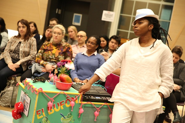 Photo Flash: First Look - The Public's Mobile Unit TWELFTH NIGHT Tours the Boroughs
