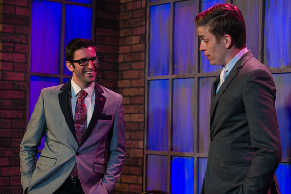 Photo Flash: Sneak Peek at CLUED IN: AN IMPROVISED MURDER MYSTERY, Returning to Judy's Beat Lounge