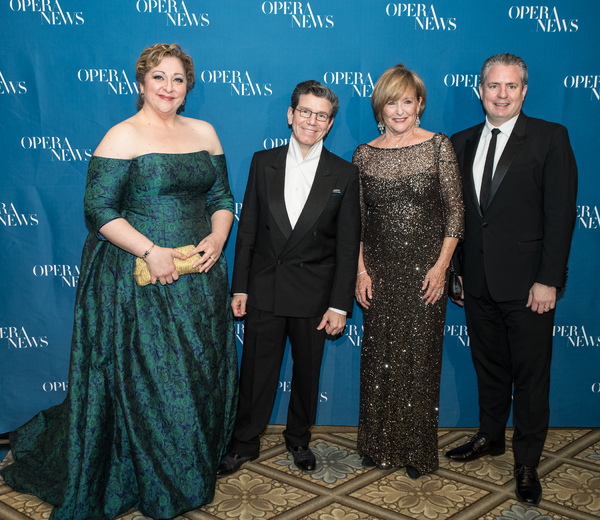 Christine Goerke, Robert Carsen, Frederica von Stade and Matthew Polenzani Photo