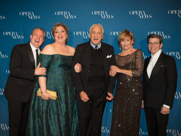 Matthew Polenzani, Christine Goerke, James D. Rigler, Frederica von Stade and Robert  Photo