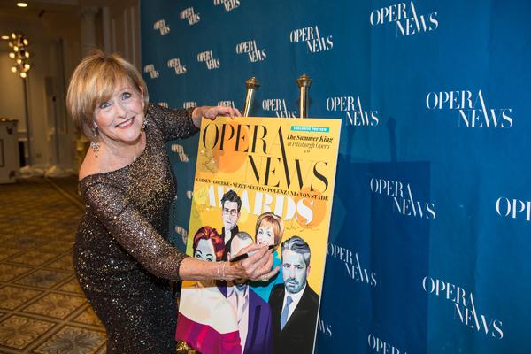 Honoree Frederica Von Stade at the 12th Annual OPERA NEWS Awards at the Plaza Hotel on April 9, 2017. Photo credit: Dario Acosta Photography