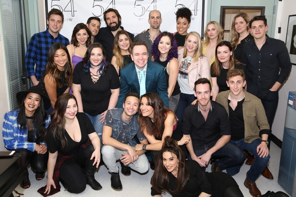 The cast and band of Broadway Loves Kelly Clarkson