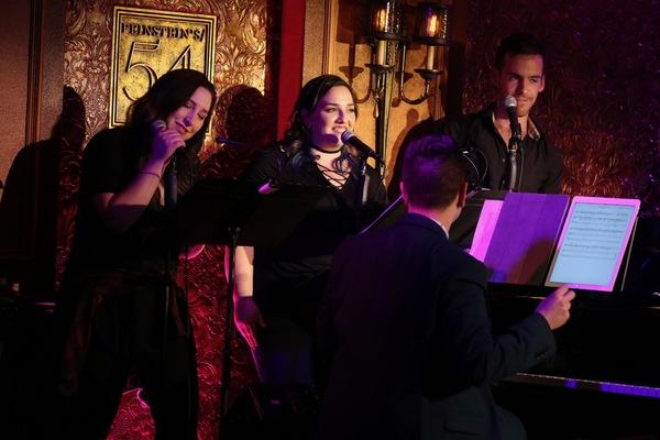 Lacey Angerosa, Rachel MacKenzie, and Sean Doherty