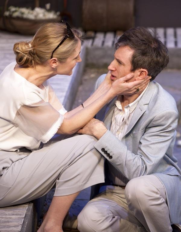 Naomi Frederick and Daniel Weyman