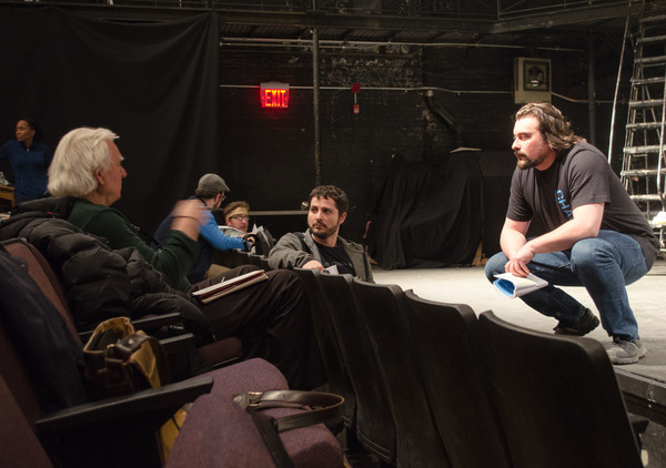 Photo Flash: David Rabe and Company in Rehearsals for IN THE BOOM BOOM ROOM Off-Broadway