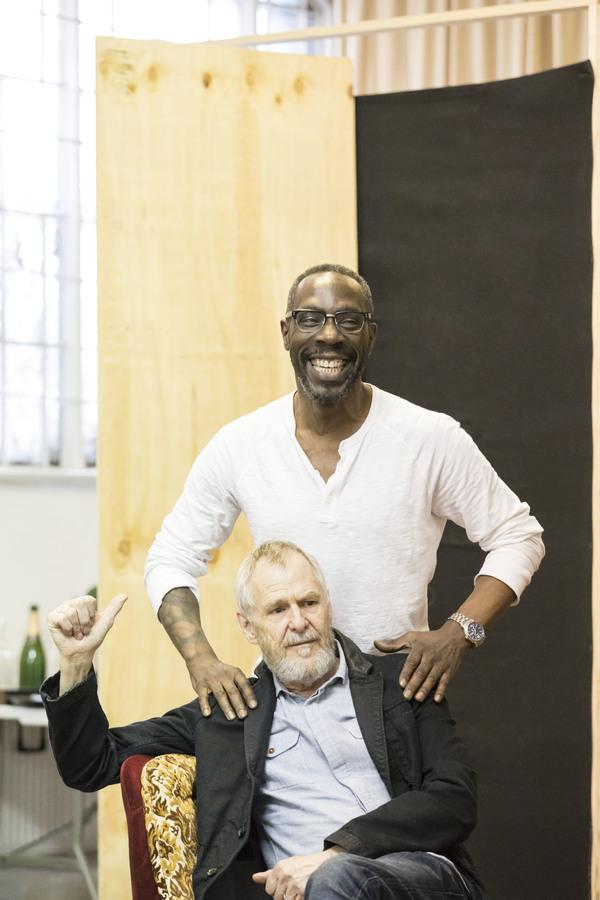 Gary Beadle and Ian Gelder Photo