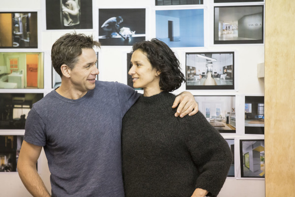 Julian Ovenden and Indira Varma