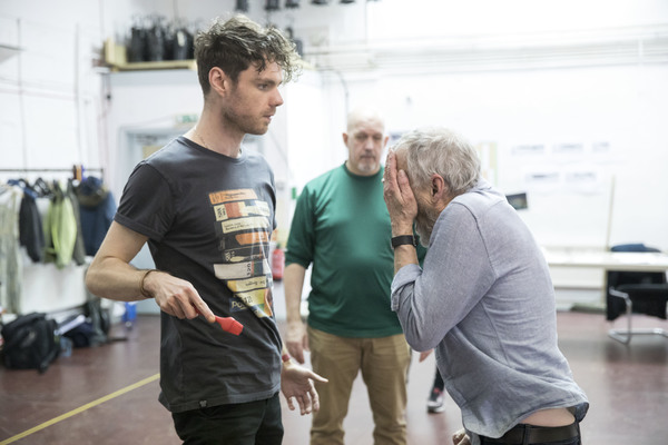 Photo Flash: In Rehearsal with Aisling Loftus, Matthew Needham and More for THE TREATMENT at Almeida
