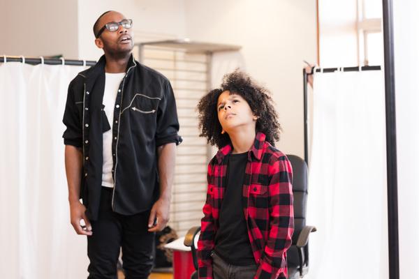 Fela Lufadeju and Taye Kassim Junaid-Evans Photo
