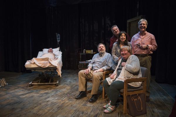 Kathleen Ruhl with Doug McDade, HB Ward, Ben Werling, Eileen Niccolai and Patrick Thornton