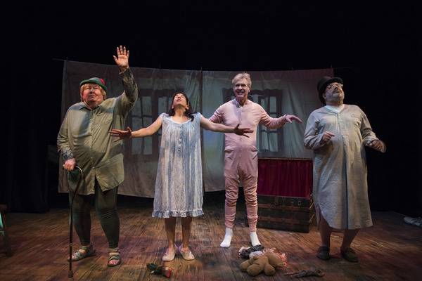 Photo Flash: First Look at Shattered Globe's FOR PETER PAN ON HER 70TH BIRTHDAY