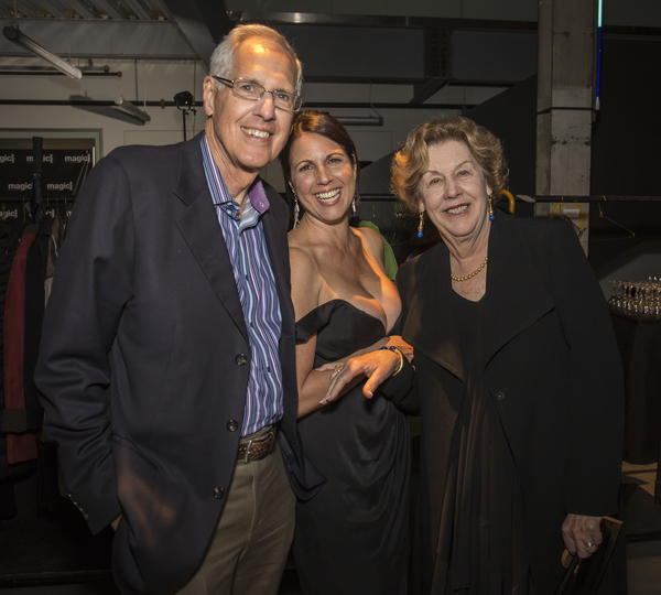 Bob Yoerg and Sharon Yoerg with Loretta Greco