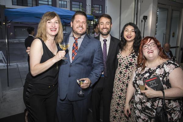 Jenny Prideaux, Matt Pagel, Corey Revilla, Leigh Wolf and company