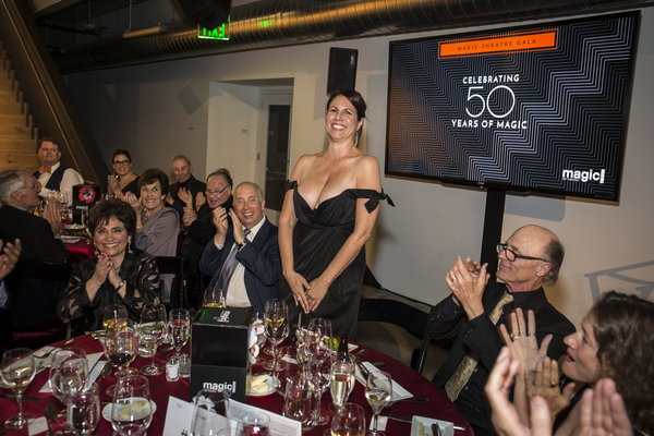 Michele Benjamin & David Benjamin, Loretta Greco, Ed Harris, Jessi Campbell and company