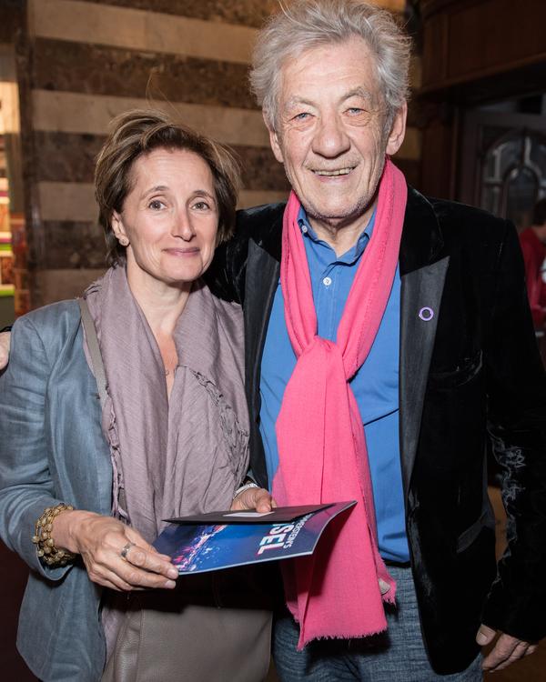 Ian McKellen and guest