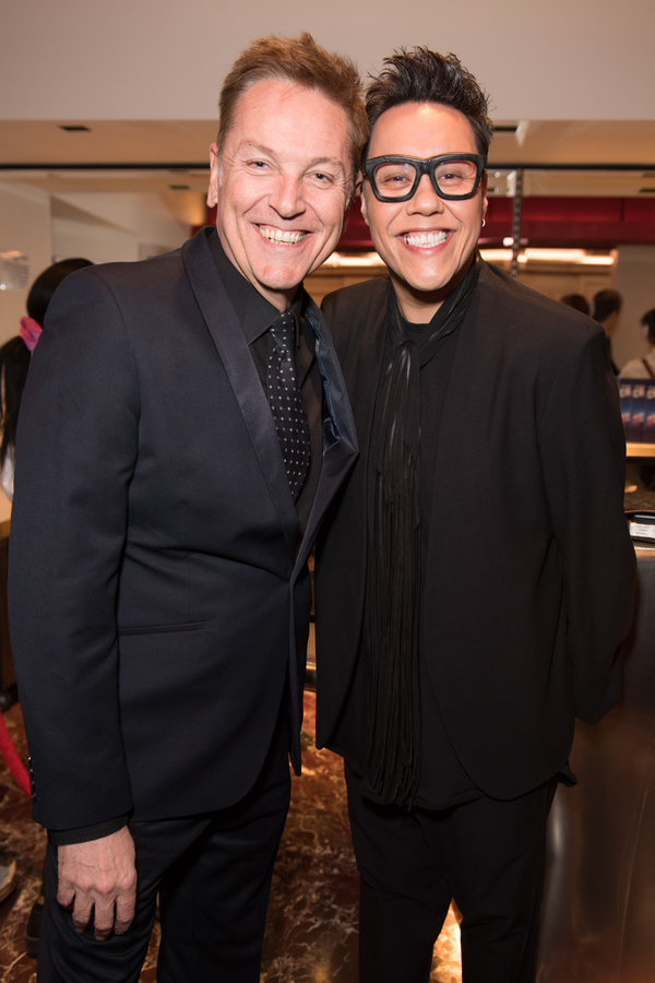 Brian Connolly and Gok Wan Photo
