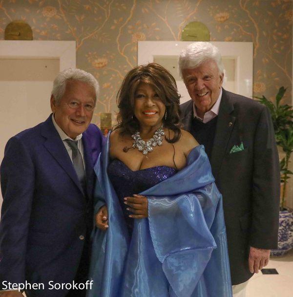 Stephen Sorokoff, Mary Wilson, Dick Robinson