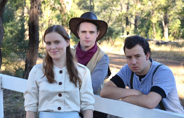 Hayley Currie, Liam Gobbert and Oliver Kaiser