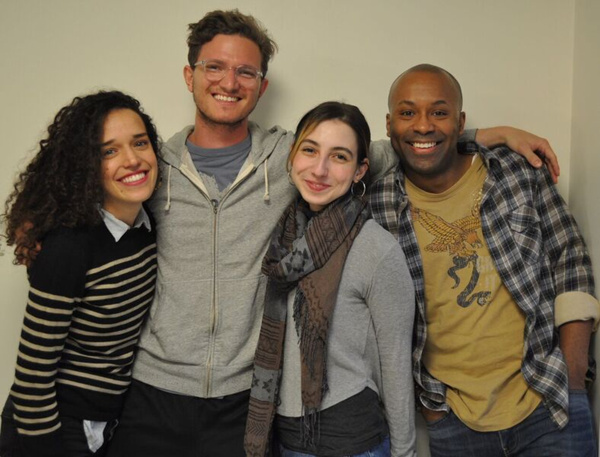 Cast for UP Theater's LOST/NOT FOUND, May 3-19, The Garret Theater at Ft. Washington  Photo