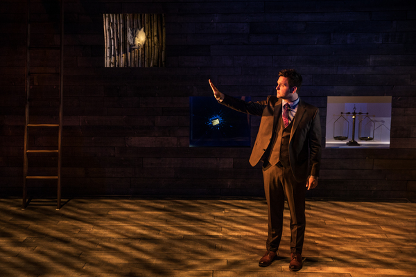 Photo Flash: First Look at IN & OF ITSELF, Presented by Neil Patrick Harris- Opens Tonight at Union Square's Daryl Roth Theatre