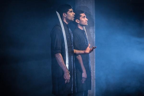 Photo Flash: First Look at GUARDS AT THE TAJ at the Bush Theatre