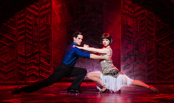 Marios Nicolaides and Joanne Clifton Photo