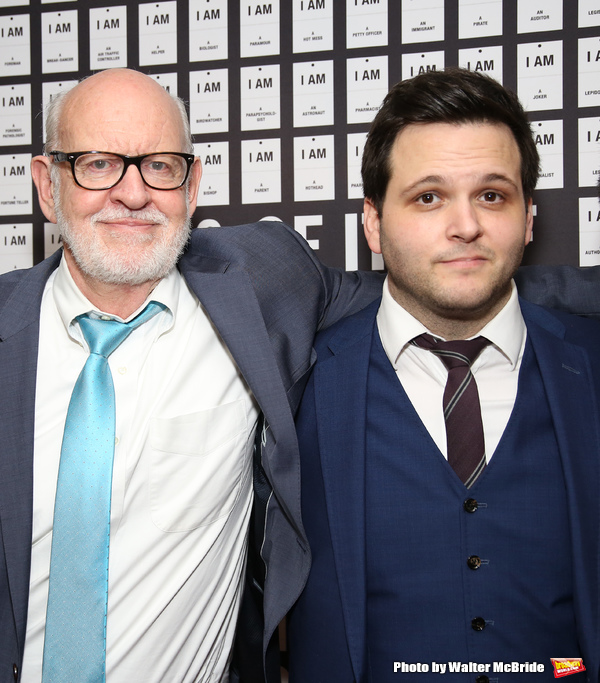 Frank Oz and Derek DelGaudio