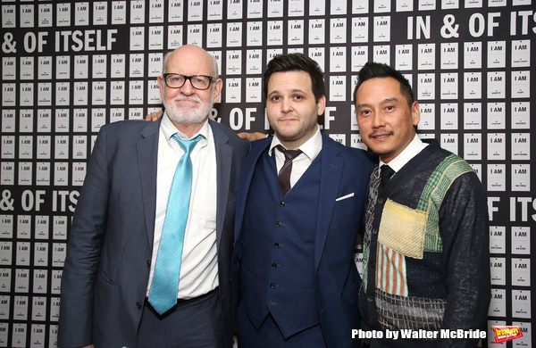 Frank Oz, Derek DelGaudio and Glenn Kaino  Photo