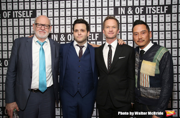 Frank Oz, Derek DelGaudio, Neil Patrick Harris and Glenn Kaino Photo