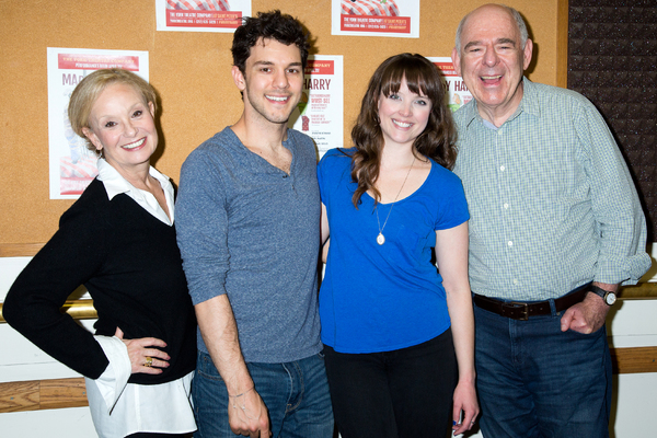 Photo Coverage: York Theatre Company's MARRY HARRY Meets the Press!