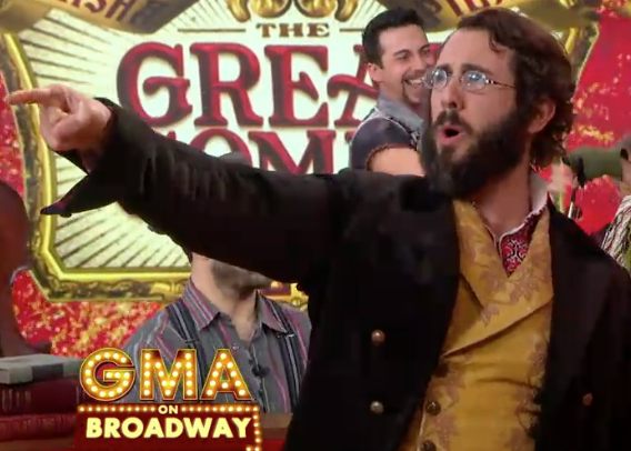 VIDEO: 'GREAT COMET's Josh Groban Reveals How His Fat Suit Saved Him from Injury